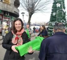 Novogodišnja akcija mreže Arhus centara u Nikšiću