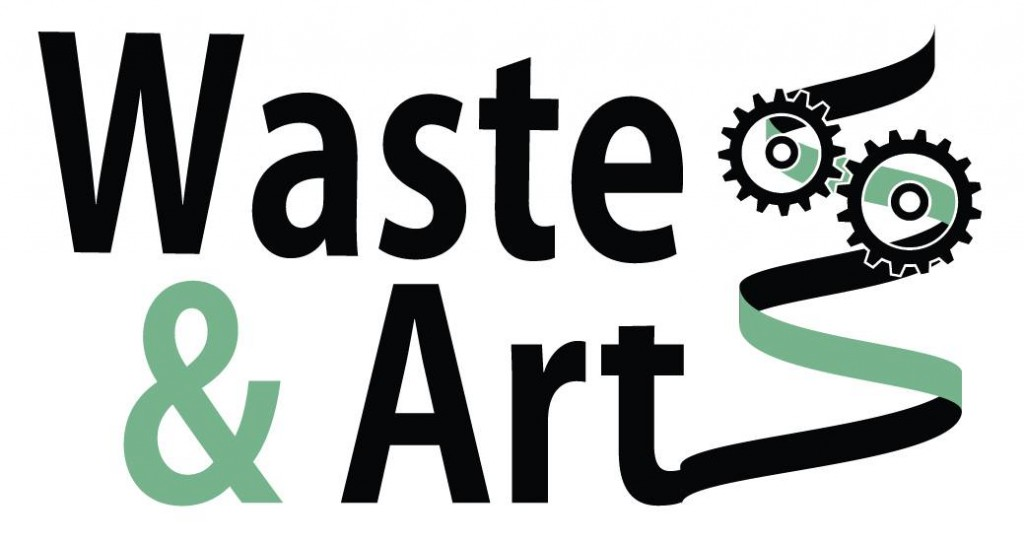 waste and art logo
