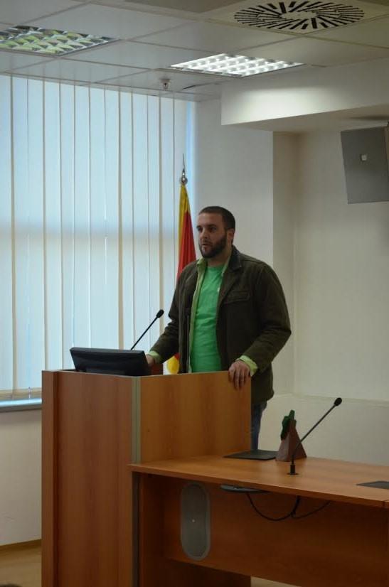 Mladen Ivanović iz Udruženja ljubitelja Gorice