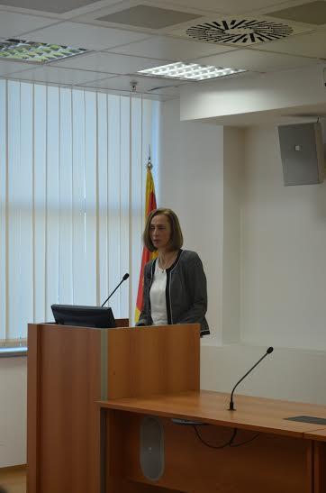 Gospođa Stanislava Martinović, direktorka Deponija doo Podgorica