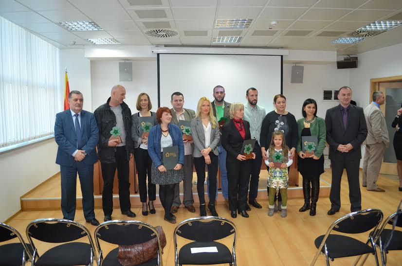 Dobitnici Zelene zvijezde za 2014-godinu
