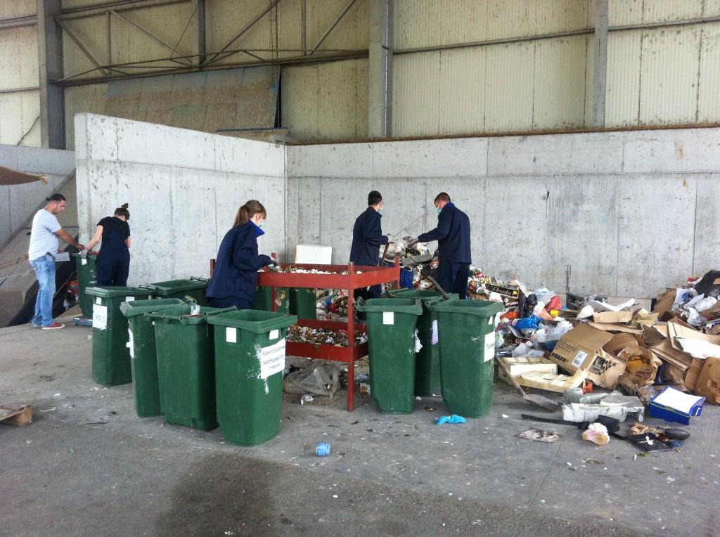Detalj iz reciklažnog centra Deponije doo u Podgorici (Foto: OZON tim)