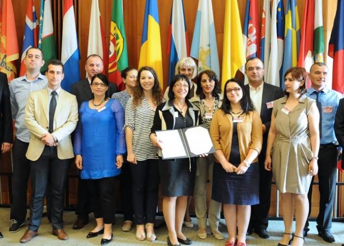 Potpisnici Zajedničke deklaracije o saranji Arhus centara Jugoistočne Evrope