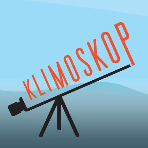 Logo kviza Klimoskop (idejno rješenje Jasna Kalač)