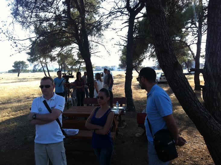 Detalj sa javne tribine na Ćemovskom polju (Foto: OZON tim)