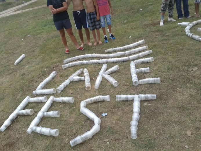 Jedna od instalacija u kampu Lake festa (Foto: OZON tim)