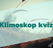 Počinje Klimoskop kviz o klimatskim promjenama