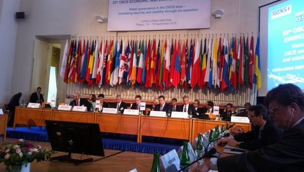 Direktor Ozona na 23. OEBS-ovom Forumu za ekonomiju i životnu sredinu