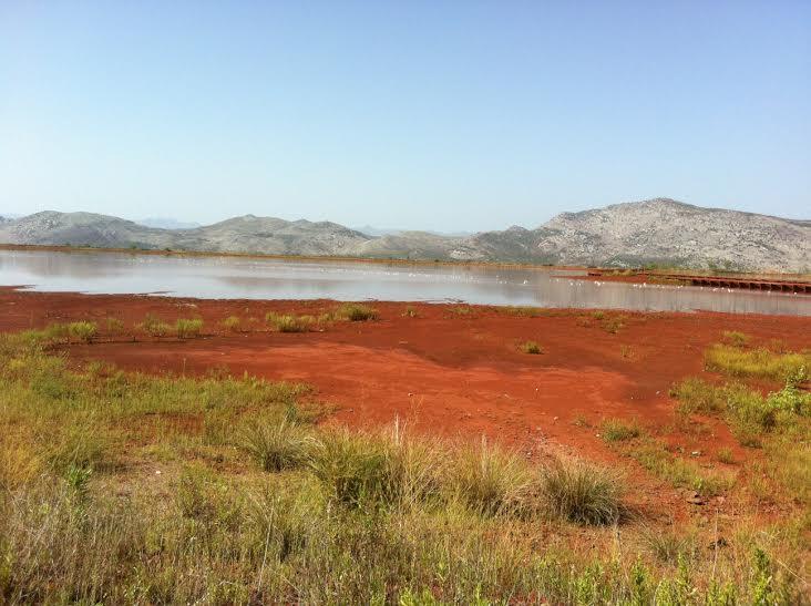 Baseni crvenog mulja, deponija industrijskog otpada iz KAP-a (Foto: OZON tim)