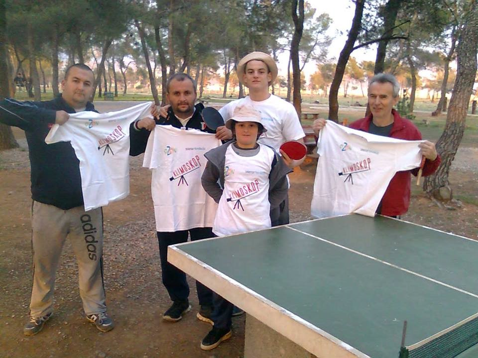 Posjetioci parka na Ćemovskom dobili promo majice (Foto: R.Papović)