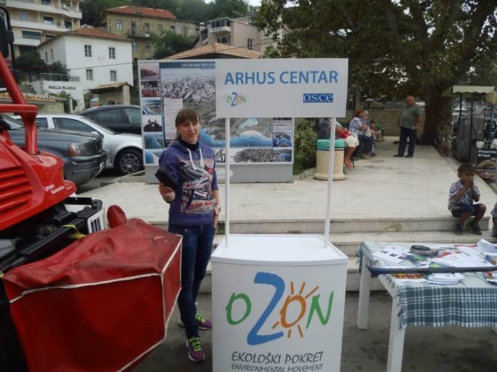 Info pult Arhus centra Nikšić u Ulcinju