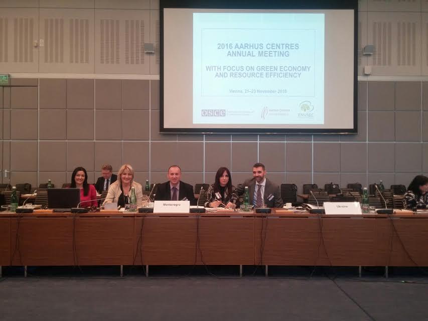 Delegacija  iz Crne Gore na sastanku Arhus centara (Foto: Srđa Matović)