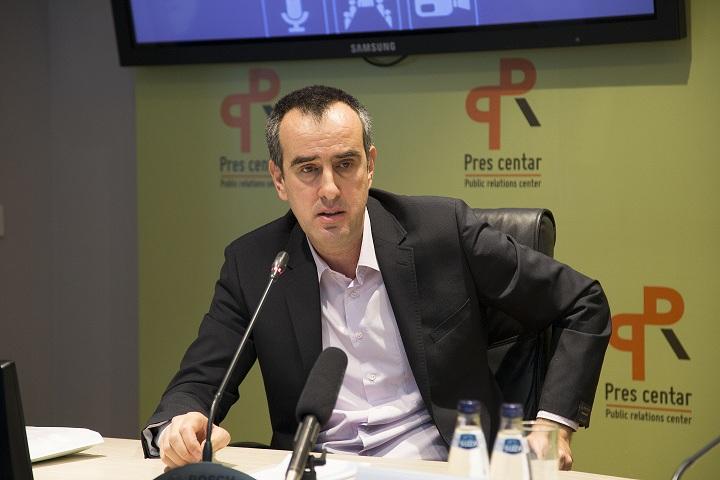 Igor Jovanović iz Direktorata za upravljanje otpadom (Foto: PR centar)