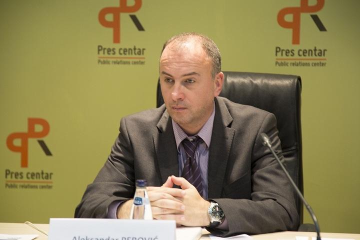"""Aleksandar Perović , direktor Ekološkog pokreta ,,OZON"""" (Foto: PR centar)"""