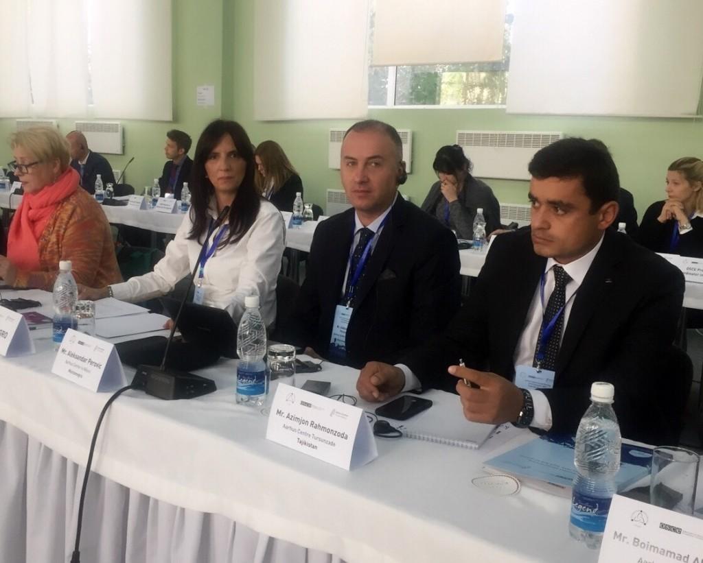 Delegacija iz Crne Gore na godišnjem sastanku Arhus centara u Kirgistanu
