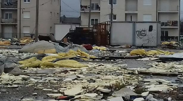 Velika divlja deponija opasnog otpada u izbjegličkom naselju na Vrelima Ribničkim