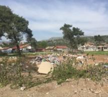 Uklonjena divlja deponija u ulici Španskih boraca na Koniku